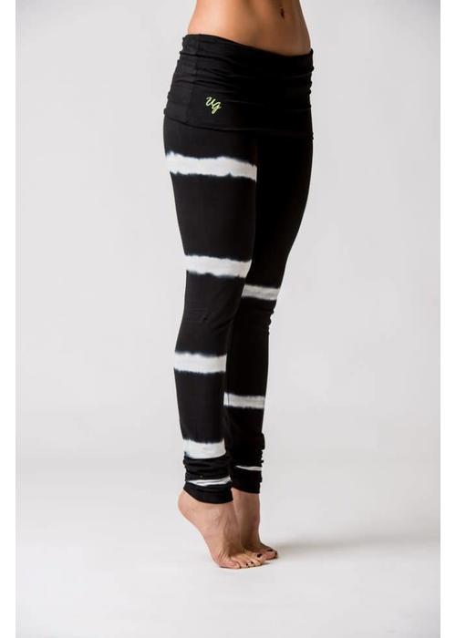 Urban Goddess Urban Goddess Shunya Yoga Legging - Urban Black/White