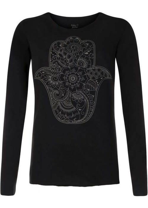 Urban Goddess Urban Goddess Yoga Shirt Protection - Urban Black