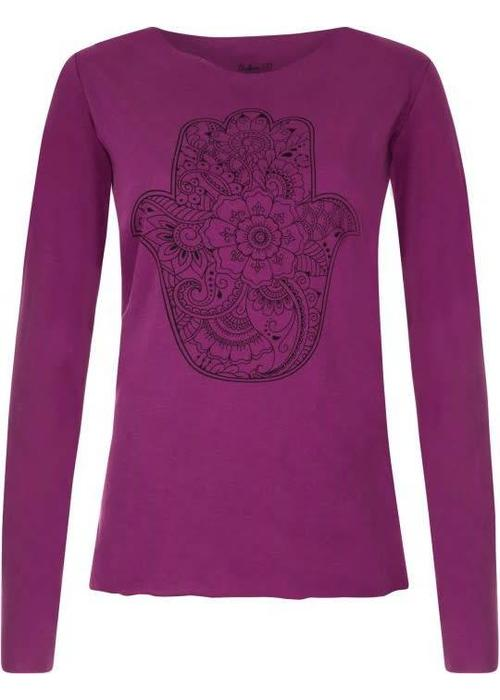 Urban Goddess Urban Goddess Yoga Shirt Protection - Very Berry