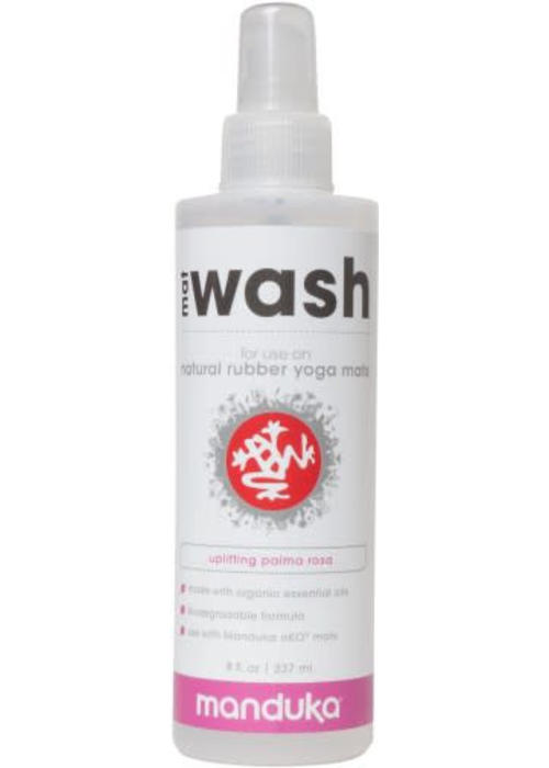 Manduka Manduka Natural Rubber Mat Wash 237ml - Uplifting Palma Rosa