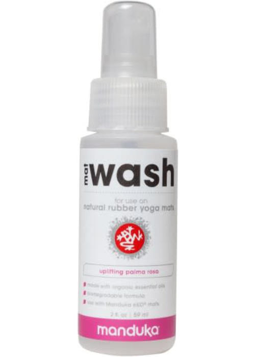 Manduka Manduka Natural Rubber Mat Wash 59ml - Uplifting Palma Rosa