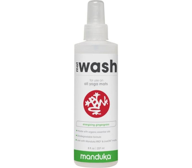 Manduka All Purpose Mat Wash 237ml - Gingergrass