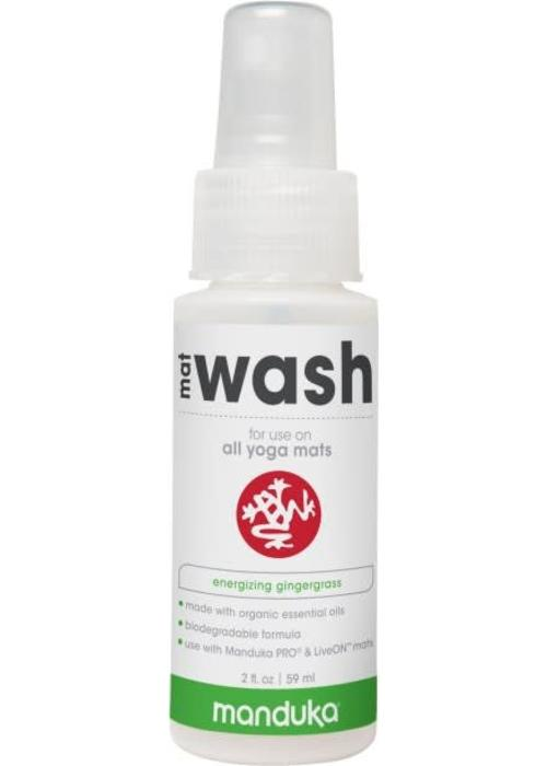 Manduka Manduka All Purpose Mat Wash 59ml - Energizing Gingergrass