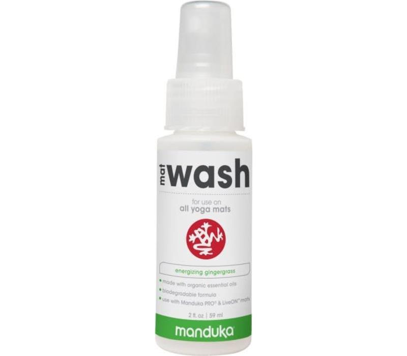 Manduka All Purpose Mat Wash 59ml - Energizing Gingergrass