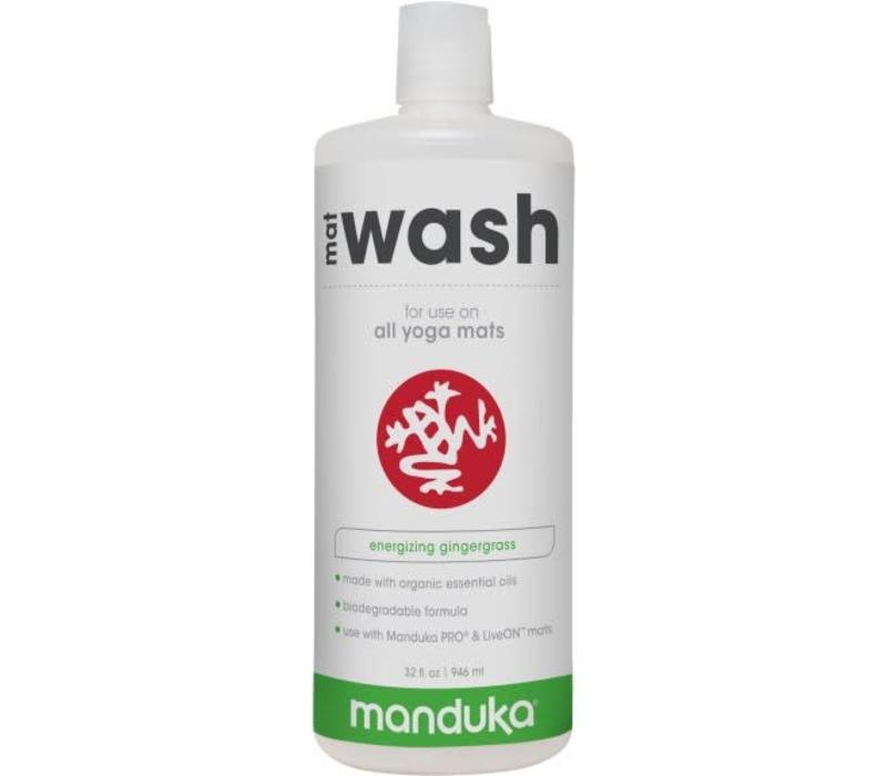 Manduka All Purpose Mat Wash 946ml - Energizing Gingergrass