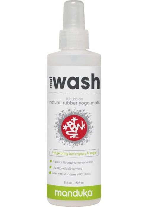 Manduka Manduka Natural Rubber Mat Wash 237ml - Invigorating Lemongrass & Sage