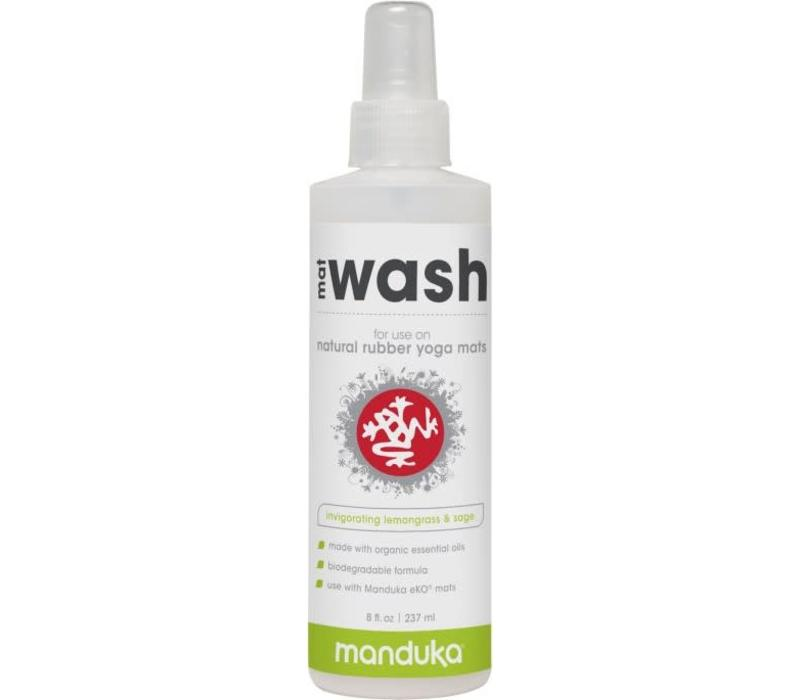Manduka Rubber Mat Wash 237ml - Lemongrass & Sage
