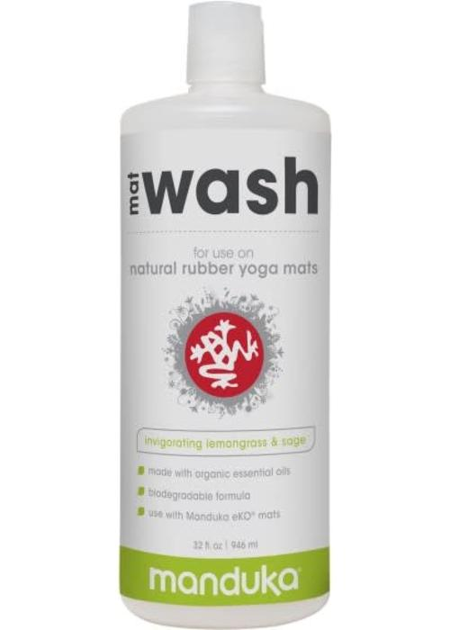 Manduka Manduka Rubber Mat Wash 946ml - Lemongrass & Sage