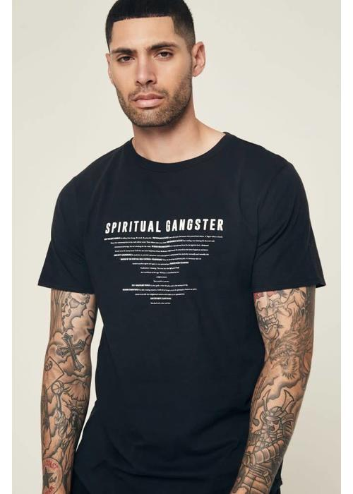 Spiritual Gangster Spiritual Gangster Men's 8 Limbs Performance Tee - Black