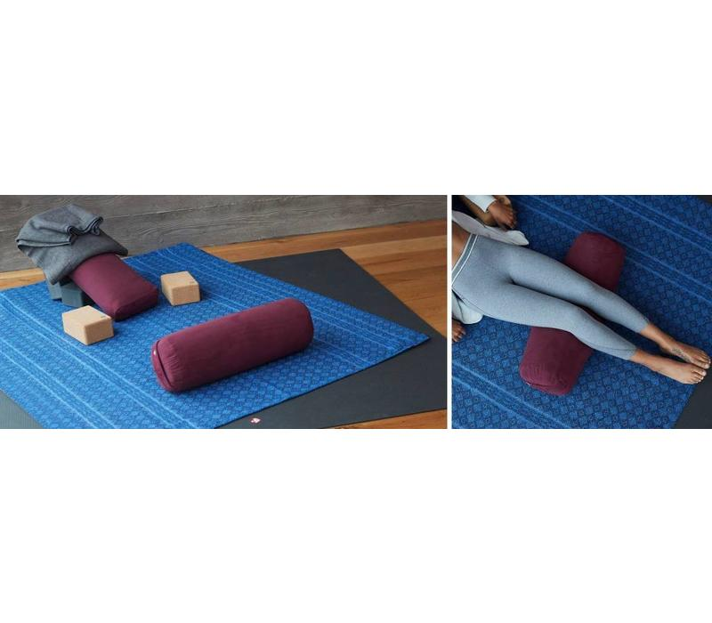 Manduka Yoga Bolster Rectangular - Thunder
