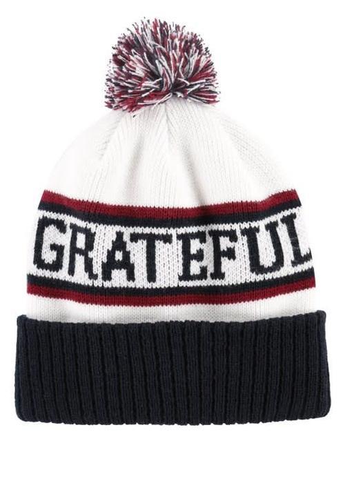 Spiritual Gangster Spiritual Gangster Pom Beanie - Grateful