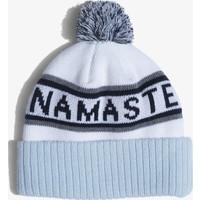 Spiritual Gangster Pom Beanie - Namaste