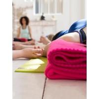 Yoga Blanket Fleece - Orange