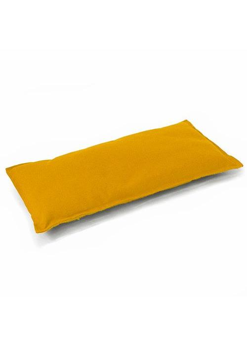 Lotus Design Meditation Bench Cushion - Yellow