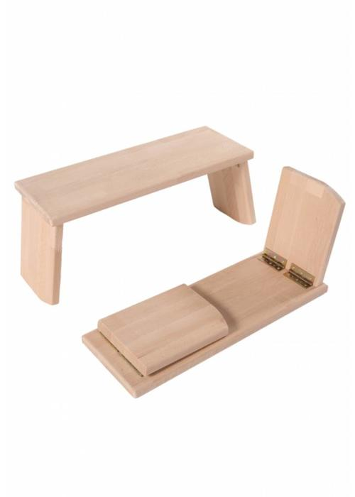 Lotus Design Meditation Bench Rounded Foldable