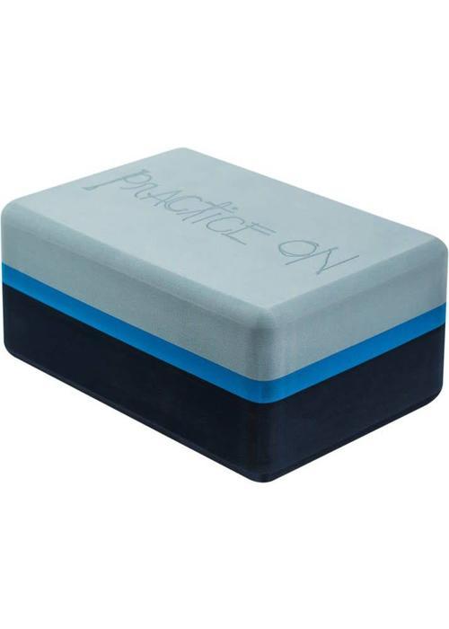 Manduka Manduka Recycled Foam Yoga Blok 3-Tone - Cueva Azul