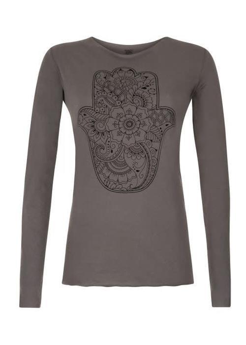 Urban Goddess Urban Goddess Yoga Shirt Protection - Volcanic Glass