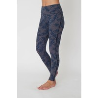 Asquith Flow With It Leggings - Bamboo Print/Navy