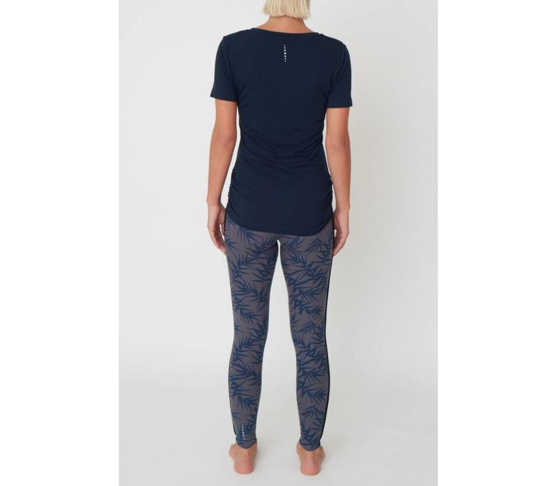 Asquith Bend It Tee - Navy
