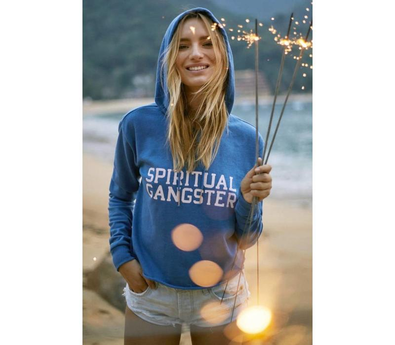 Spiritual Gangster Varsity Hoodie - Riviera