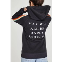 Spiritual Gangster May We All Hoodie - Vintage Black