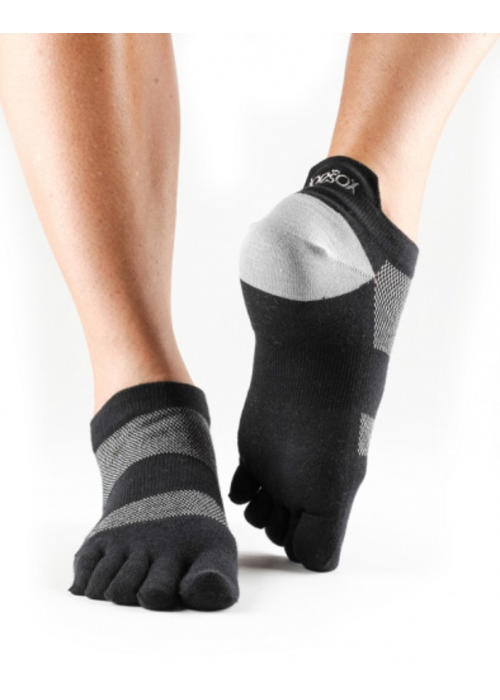 Toesox Toesox Sport Socks Lolo - Black