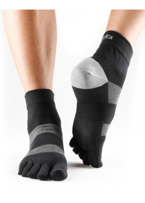 Toesox Toesox Sport Socks Minnie - Black