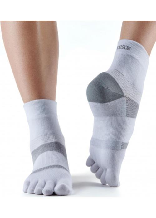 Toesox Toesox Sport Socks Minnie - White