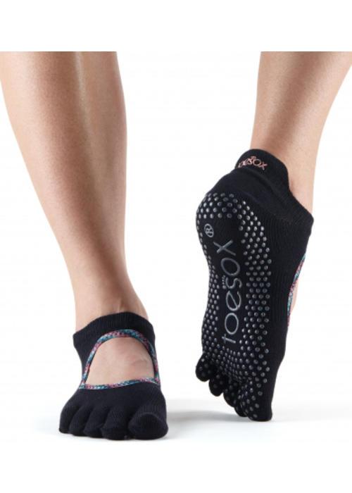Toesox Toesox Yoga Sokken Bellarina Dichte Tenen - Tango