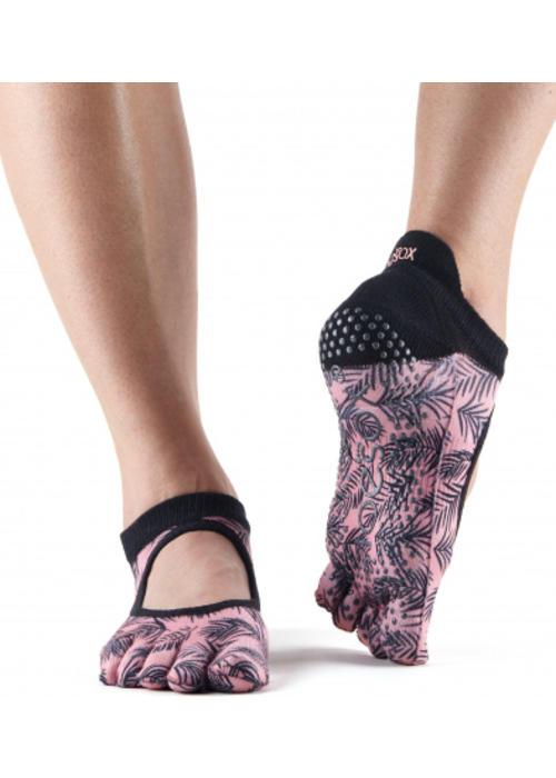 Toesox Toesox Yoga Sokken Bellarina Dichte Tenen - Palm