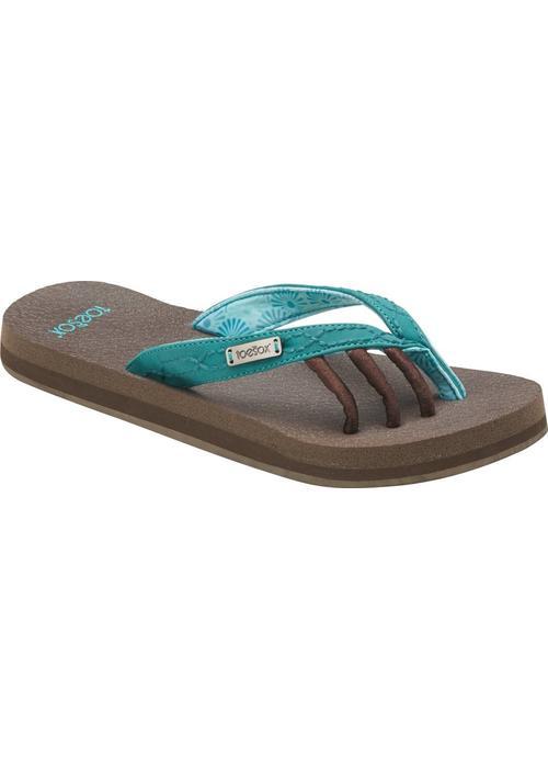 Toesox Toesox Sandals Women's Serena - Aqua