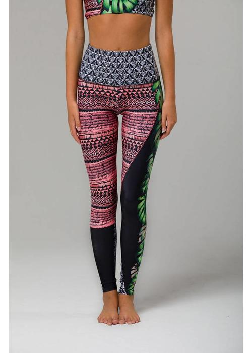 Onzie Onzie High Rise Graphic Legging - Cuban Angel