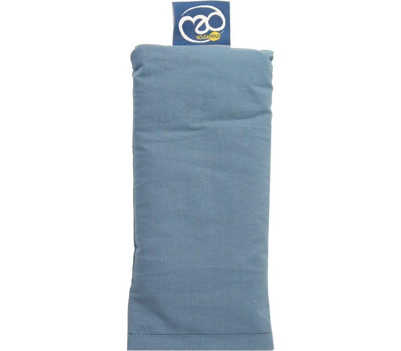 Eye Pillow Organic Cotton - Greyblue