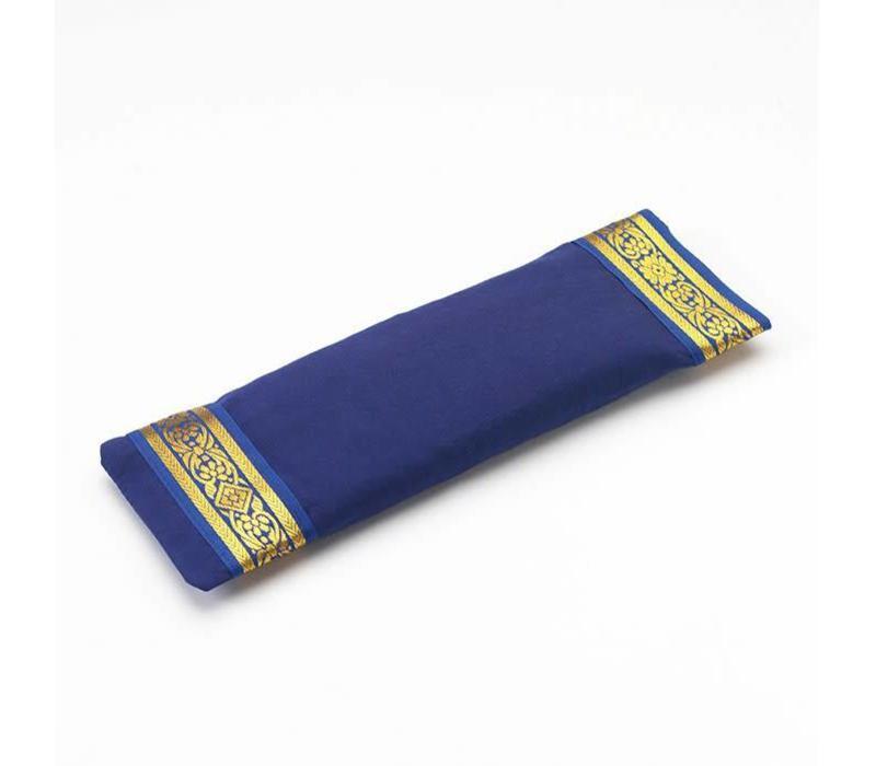 Eye Pillow Golden Details - Dark Blue