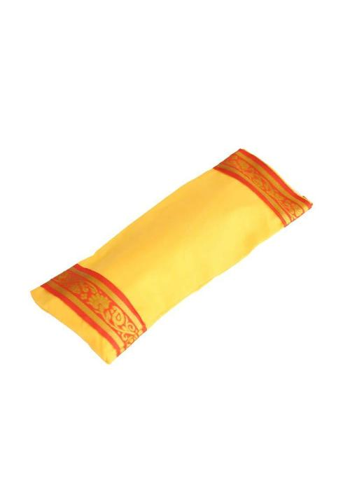 Yogamatters Eye Pillow Golden Details - Yellow