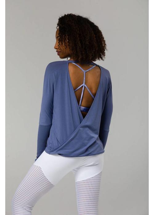 Onzie Onzie Drapey V-Back - Slate Blue
