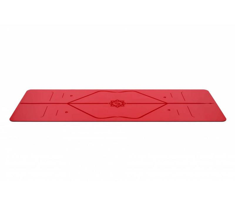 Liforme Love Yogamat 185cm 68cm 4.2mm - Red