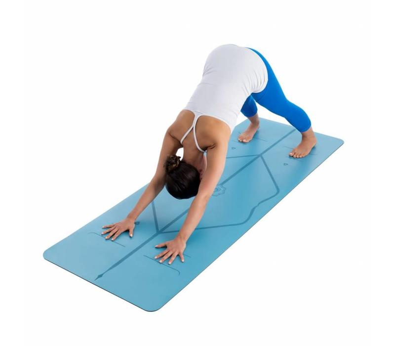 Liforme Travel Yogamat 180cm 66cm 2mm - Blue