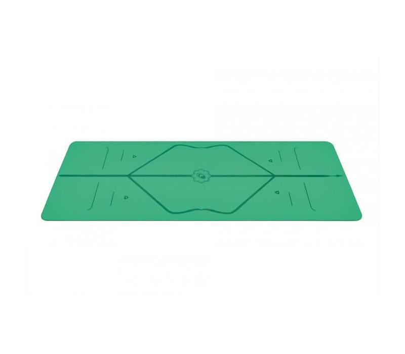 Liform Travel Yoga Mat 180cm 66cm 2mm - Green