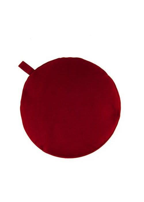Yogisha Meditation Cushion 13cm High - Burgundy