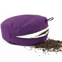 Meditation Cushion 13cm High - Grey
