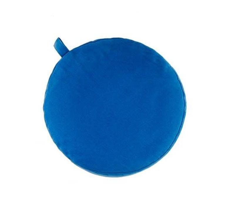 Meditation Cushion 13cm high - Light Blue