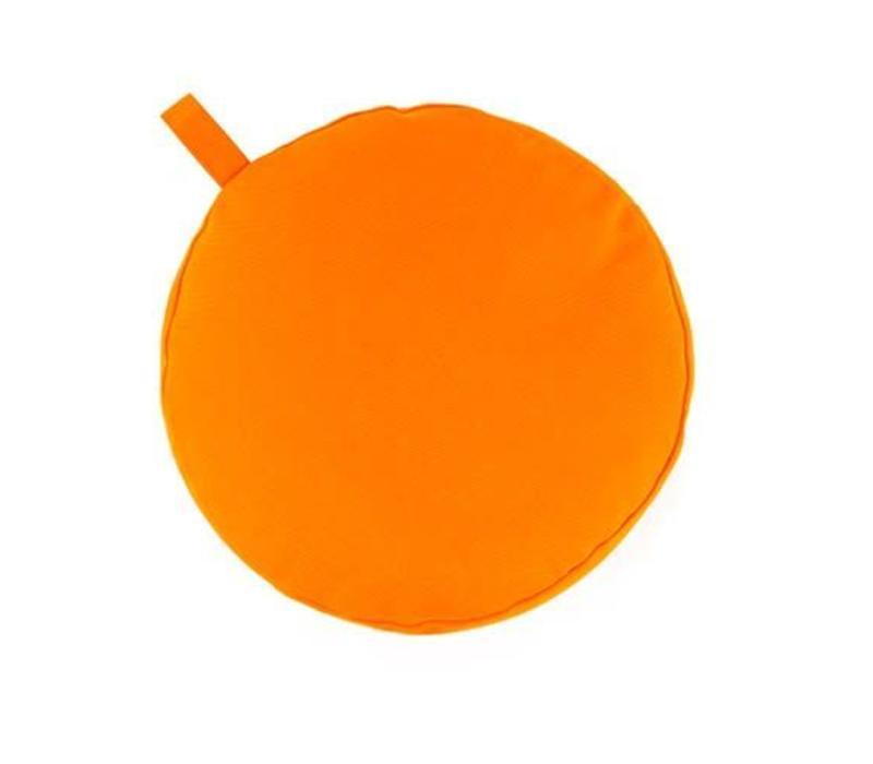 Meditation Cushion 13cm high - Orange