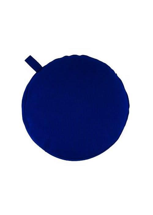 Yogisha Meditatiekussen 17cm hoog - Donkerblauw