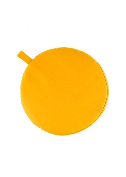 Yogisha Meditation Cushion 17cm high - Yellow