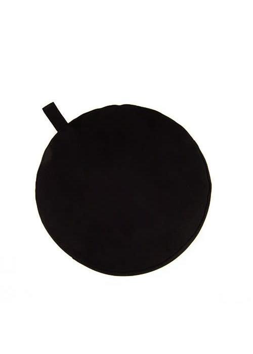 Yogisha Meditatiekussen 17cm hoog - Zwart