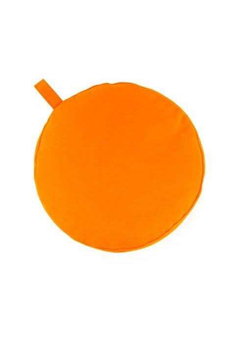 Yogisha Meditation Cushion 9cm high - Orange