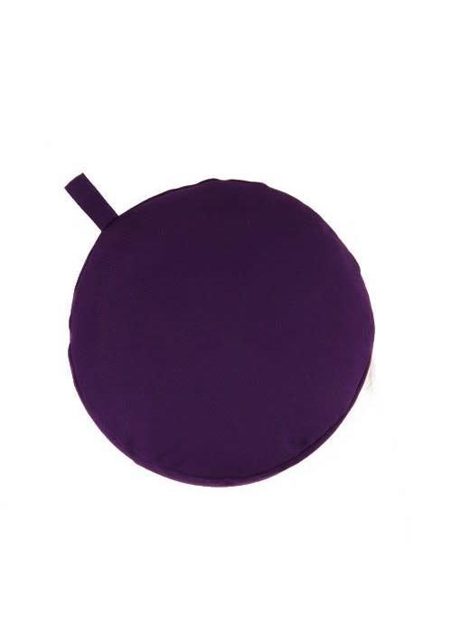 Yogisha Meditation Cushion 9cm high - Purple