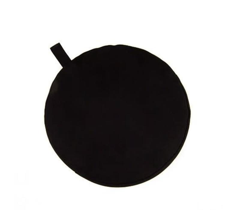 Meditatiekussen 9cm hoog - Zwart