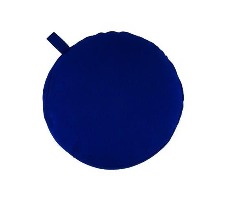 Meditatiekussen 5cm hoog - Donkerblauw